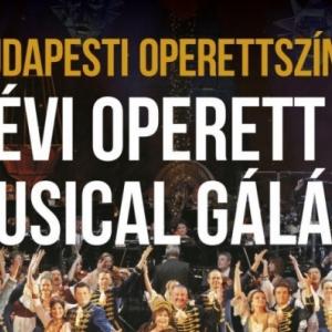 Újévi Operett és Musical gála 2020-ban Debrecenben az Operettszínház sztárjaival - Jegyek