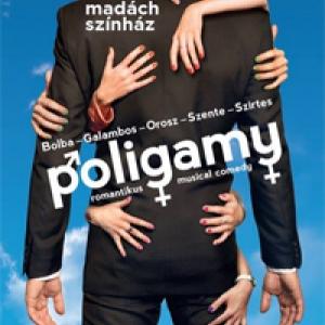 Poligamy musical a Madách Színházban 2013-ban! Jegyek itt!