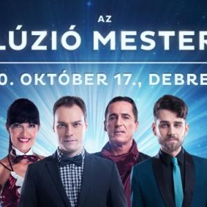 Az Illúzió mesterei 2020-ban Debrecenben a VOKE-ban - Jegyek itt!
