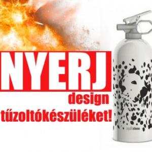 NYERJ Design tűzoltókészüléket! Ments életet!