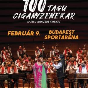 100 Tagú cigányzenekar: 35 éves Jubileumi koncert 2020-ban az Arénában! Jegyek itt!