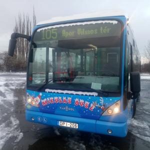 A Mikulásbusz 2020-ban is közlekedik!